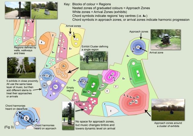 Yorkshire Sculpture Park soundtrack app map